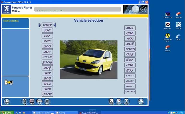 Компютърна диагностика на всички видове Пежа както и оригинален Софтуер за диагностика на Пежо на място в гр. София на ваш адрес